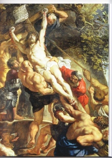L'Erection de la croix de Pierre-Paul Rubens (1610-1611) - copie